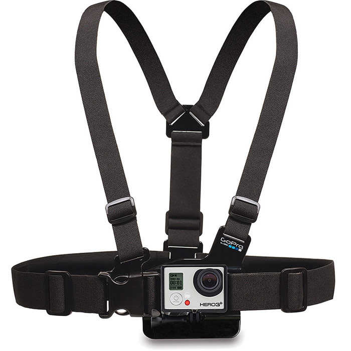 GoPro GCHM30-001 Chest Harness Mount крепление на грудь gopro helmet front and side mount ahfsm 001 набор креплений на шлем для камер gopro black