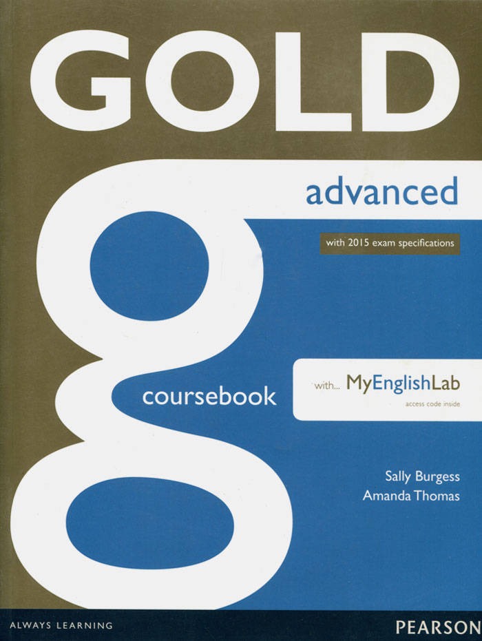 Gold Advanced: Coursebook: with MyEnglischLab сумка the cambridge satchel
