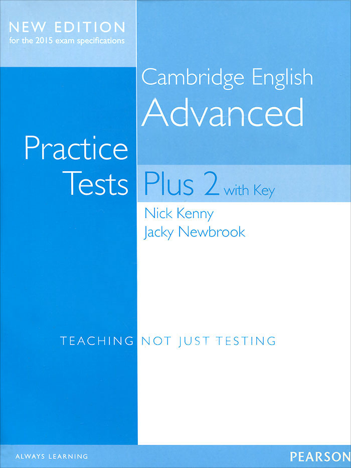 Cambridge English Advanced: Practice Tests Plus 2 with Key pass cambridge bec higher self study practice tests with key cd