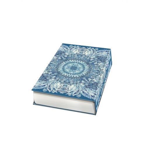 Декоративная шкатулка Голубой узор, 17 х 11 х 5 см37326Декоративная шкатулка Голубой узор - это стильная, оригинальная и удобная шкатулка, которая сделана из МДФ. Изделие предназначено для хранения мелочей. Данная модель очень удобна в использовании. Оригинальный дизайн делает шкатулку отличным подарком.