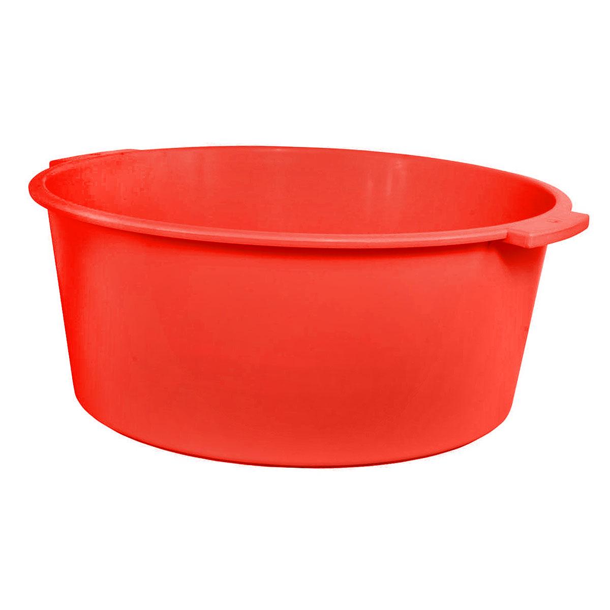 Таз Крепыш, цвет: красный, 15 лК351Таз Крепыш выполнен из прочного цветного пластика. Он предназначен для стирки и хранения разных вещей. По бокам имеются удобные ручки, которые обеспечивают надежный захват. Таз пригодится в любом хозяйстве.Размер: 44 см х 42 см х 17 см. Объем: 15 л.