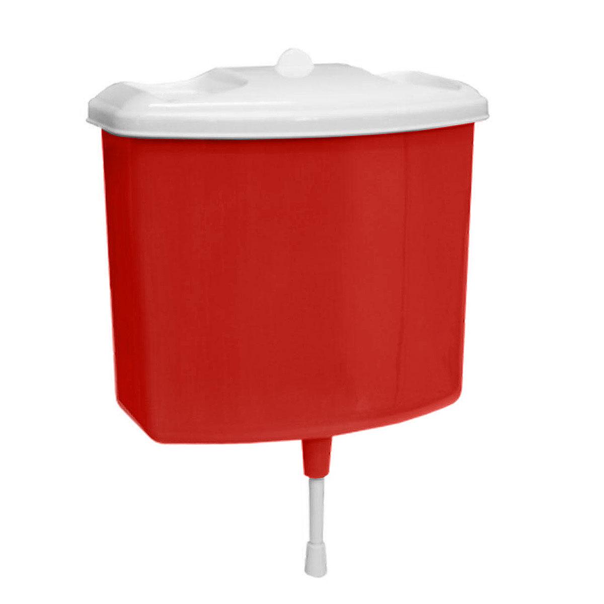 Рукомойник Альтернатива, цвет: красный, 5 лM367красныйРукомойник Альтернатива изготовлен из пластика. Он предназначен для умывания в саду или на даче. Яркий и красочный, он отлично впишется в окружающую обстановку. Петли предоставляют вертикальное крепление рукомойника. Рукомойник оснащен крышкой, которая предотвращает попадание мусора. Также на крышке имеет две выемки для мыла. Рукомойник Альтернатива надежный и удобный в использовании.Размер рукомойника: 26,5 см х 15 см.Высота (без учета крышки): 23 см.
