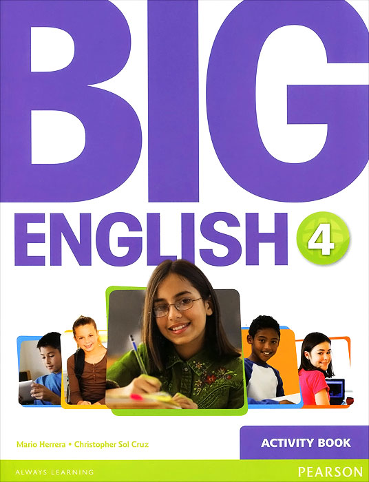 Big English 4: Activity Book (+ наклейки) english learning and teaching in taiwan