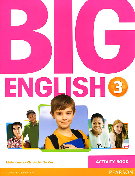 Big English 3: Activity Book (+ наклейки)