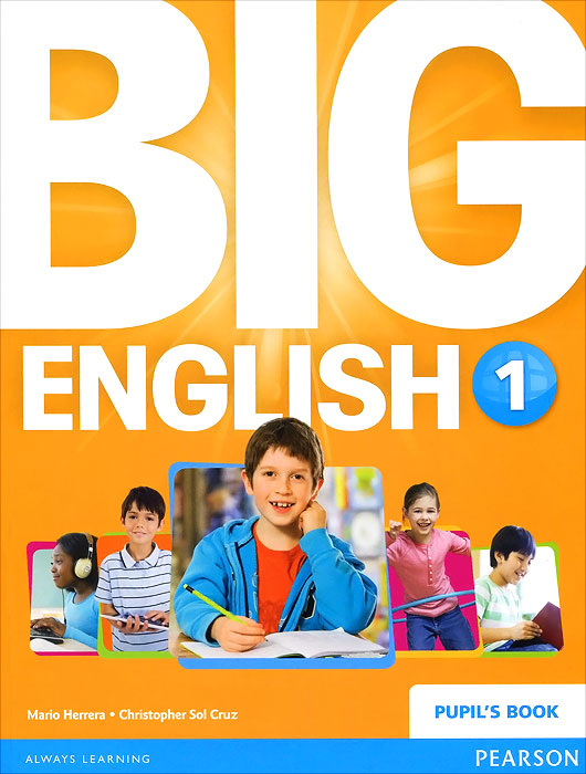 Big English 1: Pupil's Book (+ наклейки) english learning and teaching in taiwan