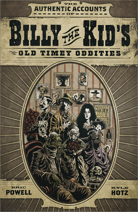 Billy the Kid's Old Timey Oddities Omnibus las obras completas de billy the kid