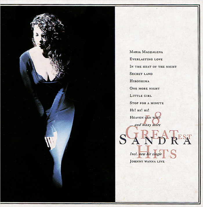 Сандра Sandra. 18 Greatest Hits queen greatest hits cd