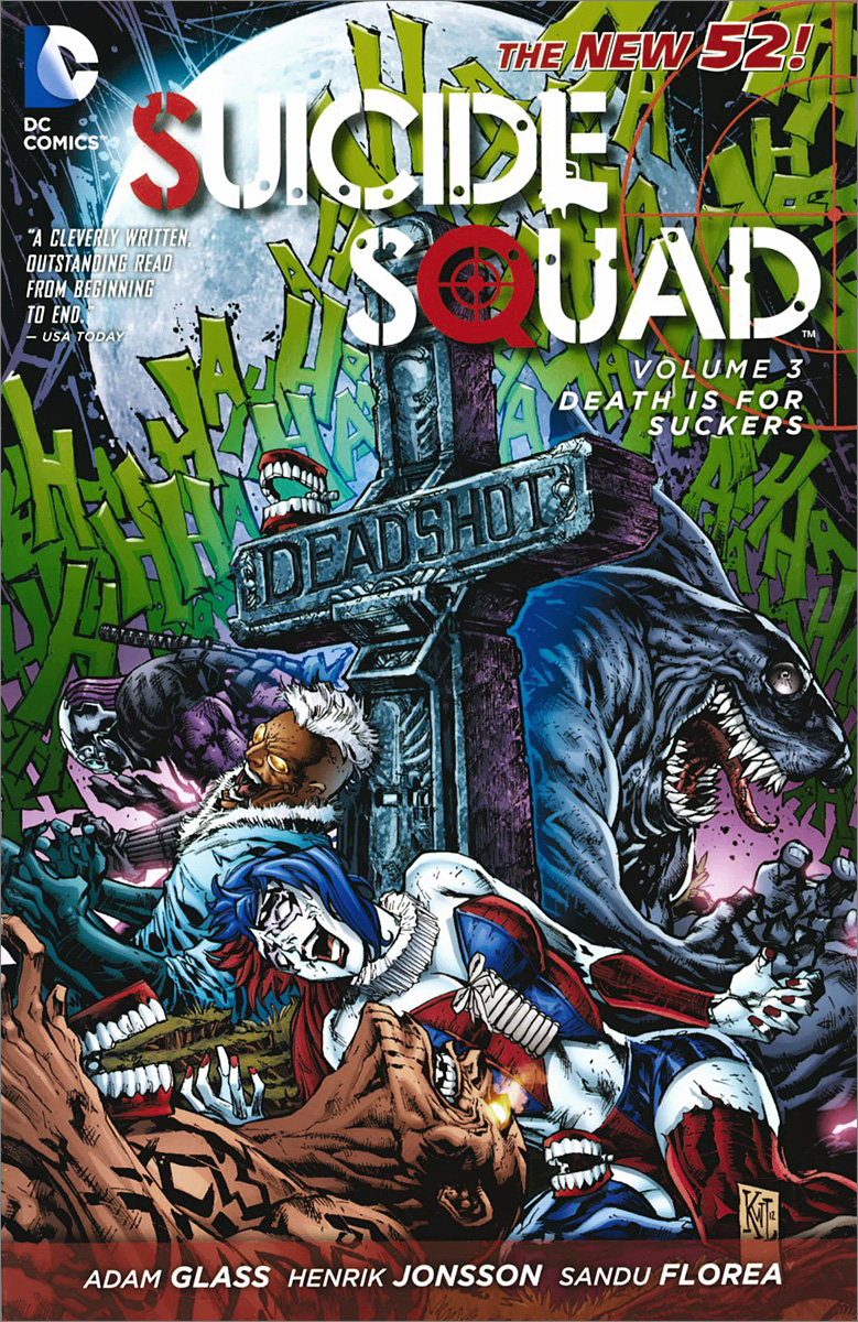 Suicide Squad: Volume 3: Death is for Suckers the joker the clown prince of crime
