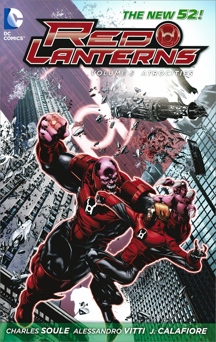 Red Lanterns: Volume 5: Atrocities verne j journey to the centre of the earth