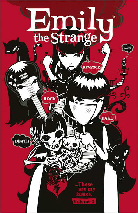 Emily the Strange: Volume 2: Rock, Death, Fake, Revenge, and Alone emily rosenberg financial missionaries to the world – the politics