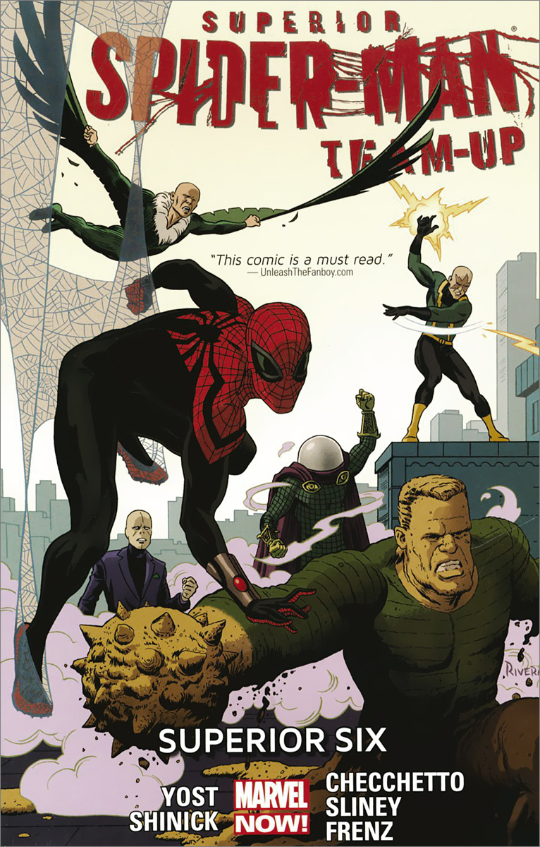 Superior Spider-Man Team-Up: Volume 2: Superior Six the amazing spider man 2