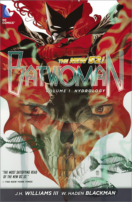 Batwoman: Volume 1: Hydrology  kane ben hannibal clouds of war