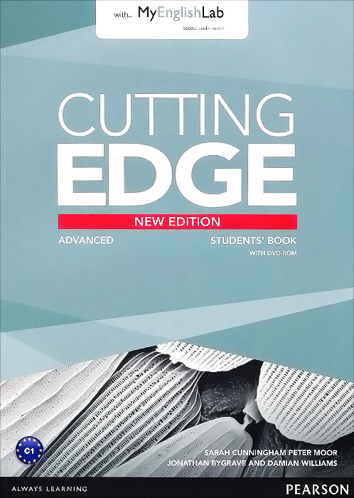 Cutting Edge: Advanced: Student's Book with MyEnglishLab (+ DVD-ROM) cutting edge starter student s book with myenglishlab dvd rom
