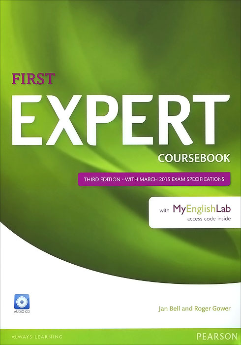 First Expert: Coursebook with MyEnglishLab (+ 2 CD) first expert coursebook with myenglishlab 2 cd