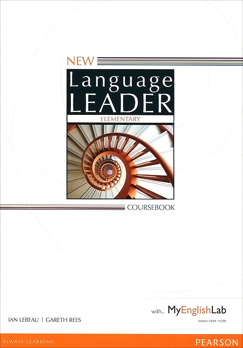 New Language Leader: Elementary: Coursebook with MyEnglishLab market leader 3rd edition extra elementary coursebook and myenglishlab pin pack