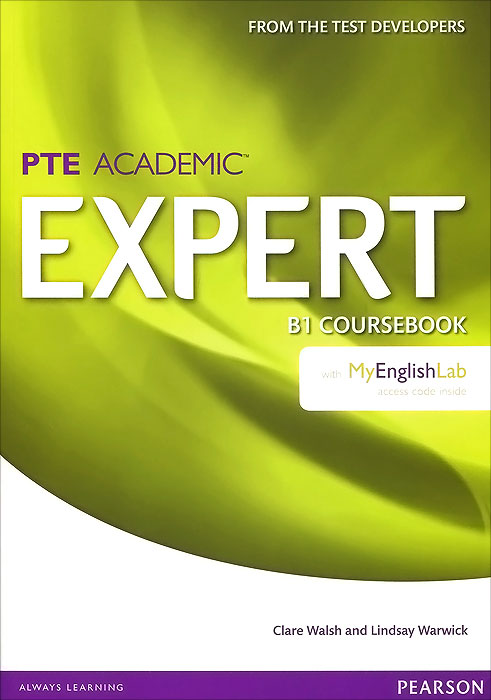 PTE Academic Expert: B1: Coursebook with MyEnglishLab