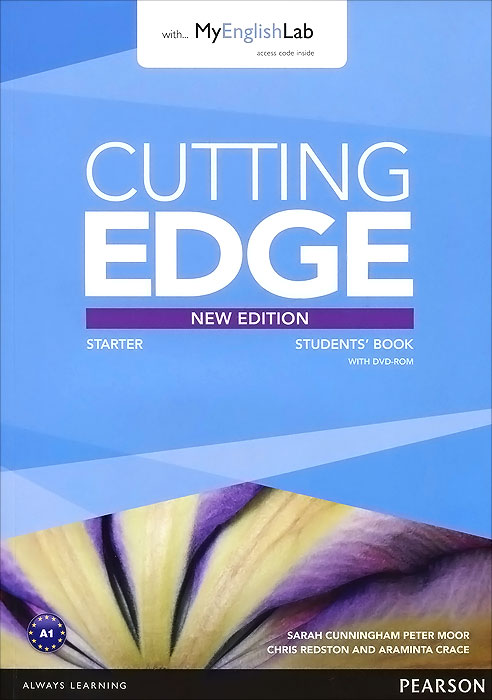 Cutting Edge: Starter: Student's Book with MyEnglishLab (+ DVD-ROM) cutting edge intermediate dvd rom