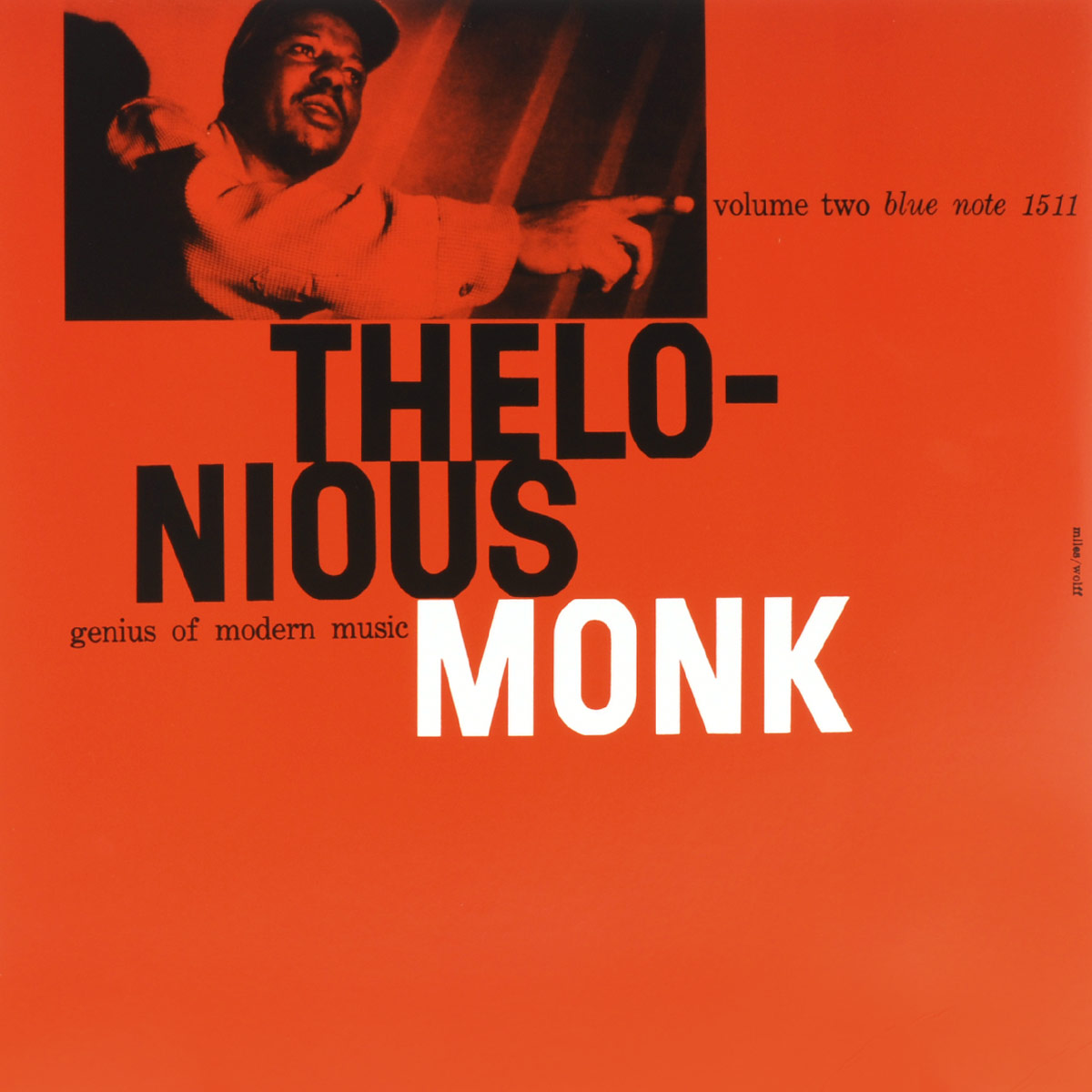 Телониус Монк Thelonious Monk. Genius Of Modern Music Vol.2 (LP) the thelonious monk orchestra the thelonious monk orchestra at town hall lp