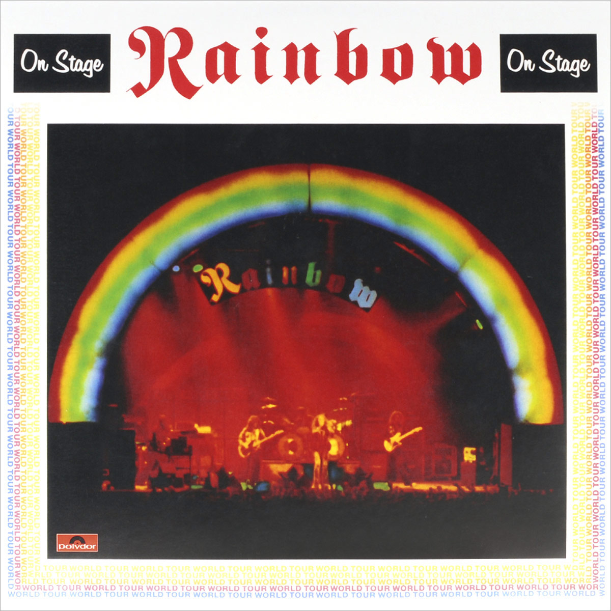Rainbow Rainbow. On Stage (2 LP) rainbow rainbow the polydor years 9 lp