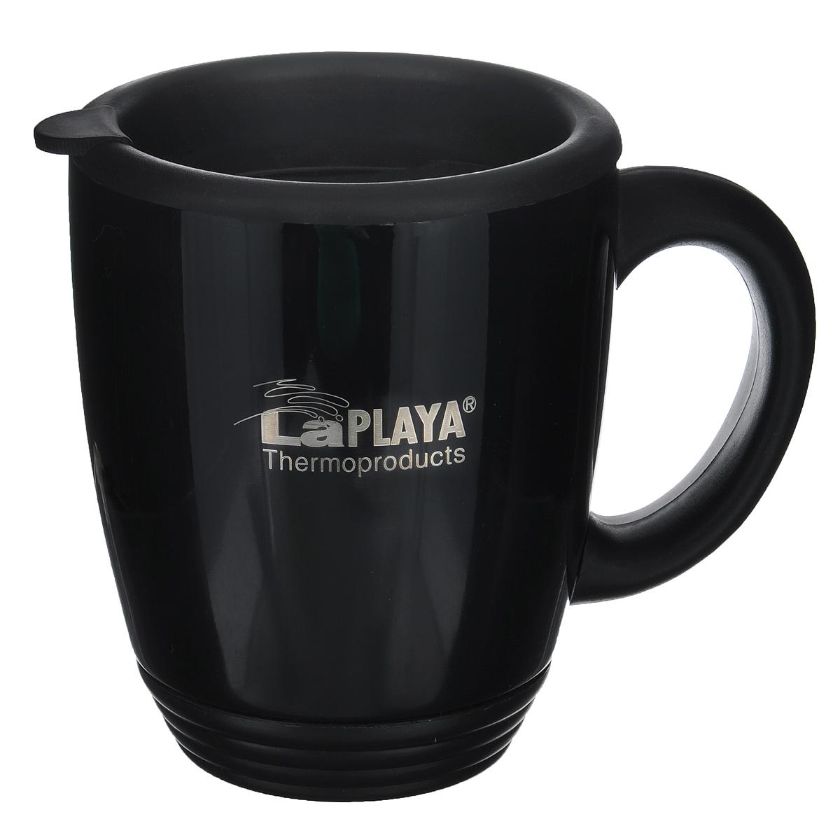 Термокружка LaPlaya, цвет: черный, 450 мл термосы и термокружки