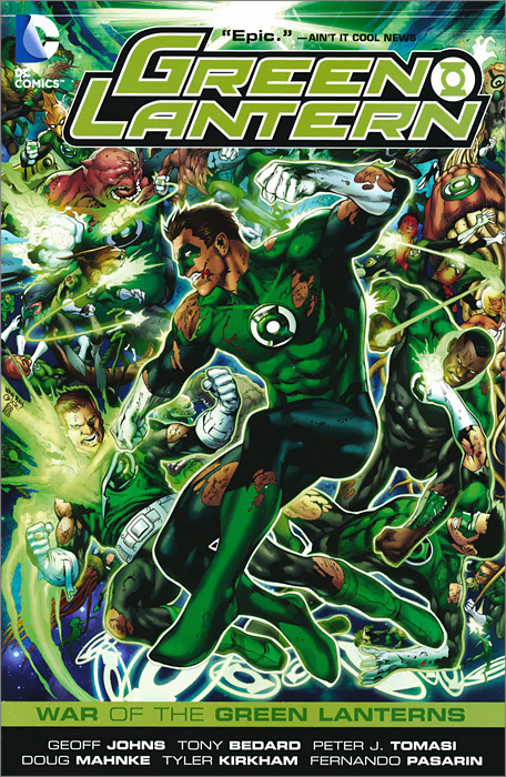 Green Lantern: War of the Green Lanterns green lantern the wrath of the first lantern
