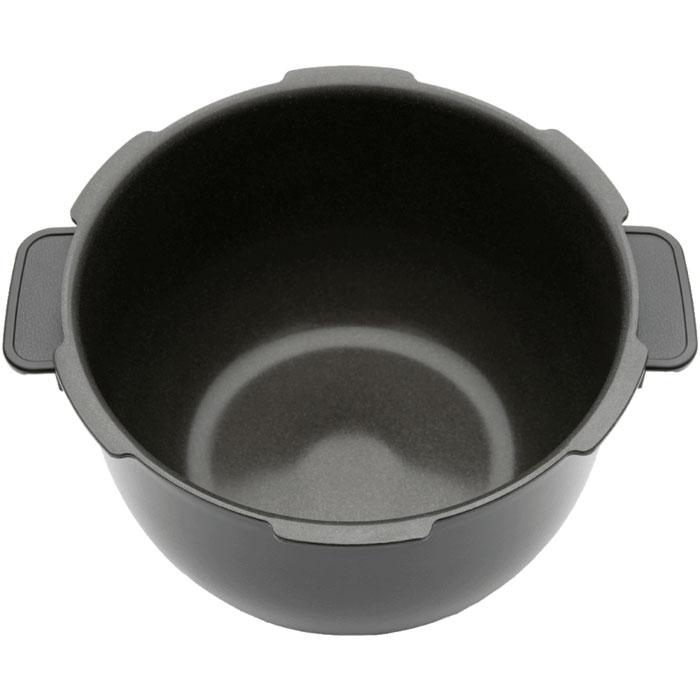 Element El`inner Pot чаша для мультиварки ElChef 1EL-FWA01PB-01Чаша для мультиварки Element EL-FWA01PB-01 от Element. Качество чаши ключевое составляющие качествамультиварки в целом, так как именно чаша имеет непосредственный контакт с пищей. Эту посуду отличает рядуникальных технологических свойств и разработок: прочность, теплопроводность, экологичность иантипригарные свойства. Стоит отметить, что чаша Element EL-FWA01PB-01 - одна из самых толстых средипредставленных на рынке и состоит из 9 слоев, каждый из которых обладает определенными преимуществами.Слой алюминия с высокой теплопроводностью и литой стали с покрытием, нанесенным при температуре 2000градусов, гарантируют устойчивость к коррозии, прочность и эффективное распределение тепла. Разработанное специально для мультиварок, готовящих под давлением, покрытие Dyking отличаетсяустойчивостью к разрушению парами, высокому давлению и температурам. Это покрытие также обладаетотличными антипригарными свойствами, что позволяет готовить в Element EL-FWA01PB-01 практически бездобавления дополнительных жиров. И это не единственный плюс с точки зрения здоровья - все слои и покрытиячаши абсолютно безопасны благодаря отсутствию в них канцерогенной кислоты PFOA. Завершающее верхнеепокрытие представляет собой напыление из микрочастиц черных алмазов. Оно обеспечивает устойчивость кцарапинам, а также, наряду с покрытием Dyking, сообщает Element EL-FWA01PB-01 отличные антипригарныесвойства.