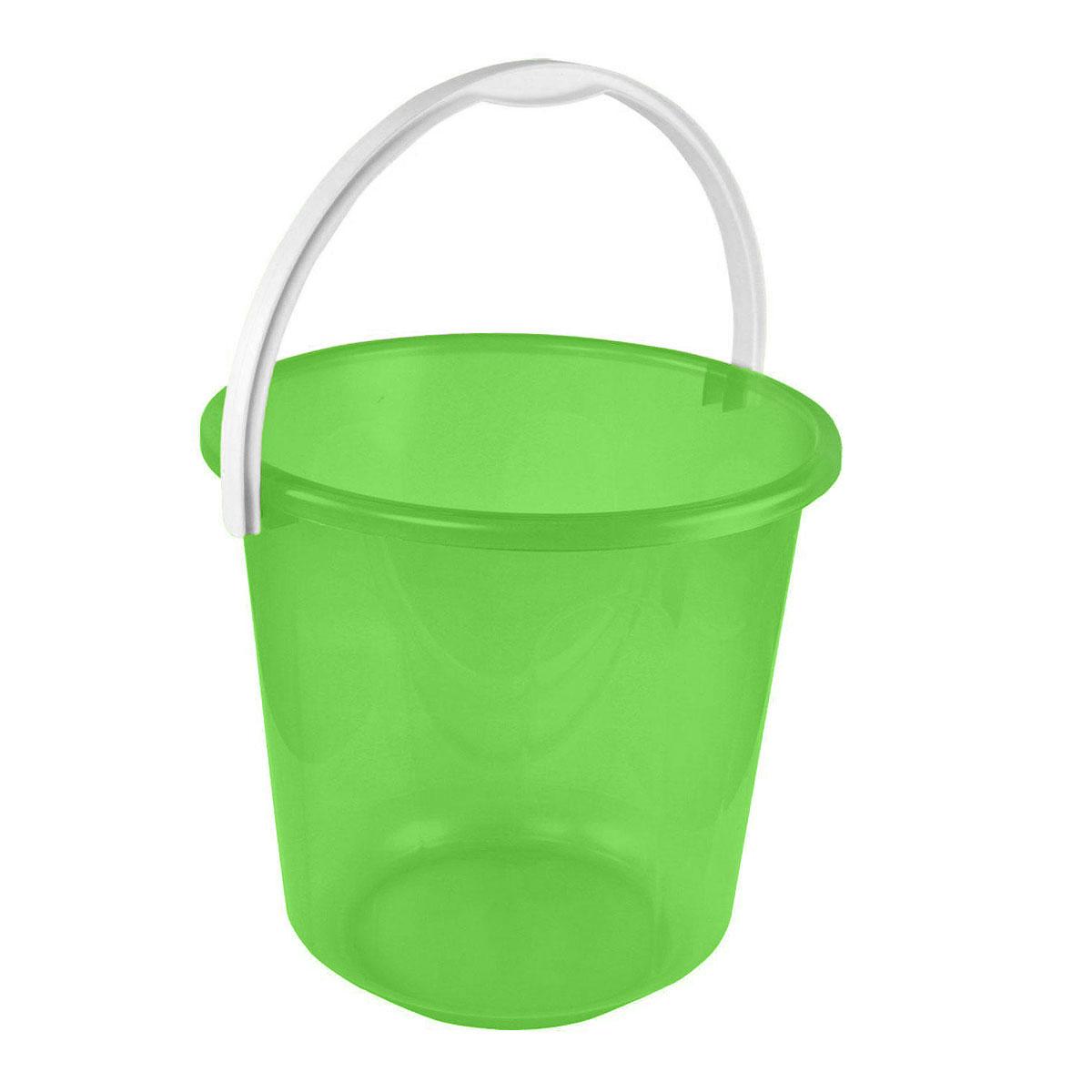 Ведро Альтернатива Хозяюшка, цвет: зеленый, 10 лМ1212Ведро Альтернатива Хозяюшка изготовлено из высококачественного пластика и оснащено отметками литража. Оно легче железного и не подвержено коррозии. Ведро имеет удобную пластиковую ручку. Такое ведро станет незаменимым помощником в хозяйстве. Идеально для хранения пищевых отходов.Размер: 28 см х 28 см х 26,5 см.
