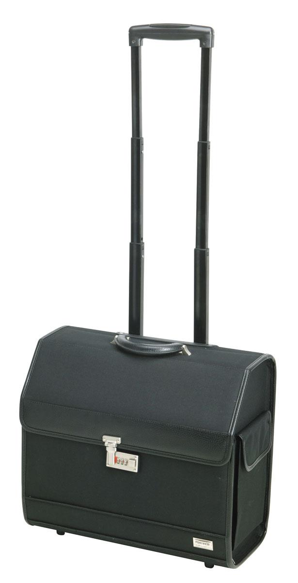 Dewal Чемодан для парикмахерских инструментов, цвет: черный. HP007A чемодан samsonite чемодан 55 см lite biz