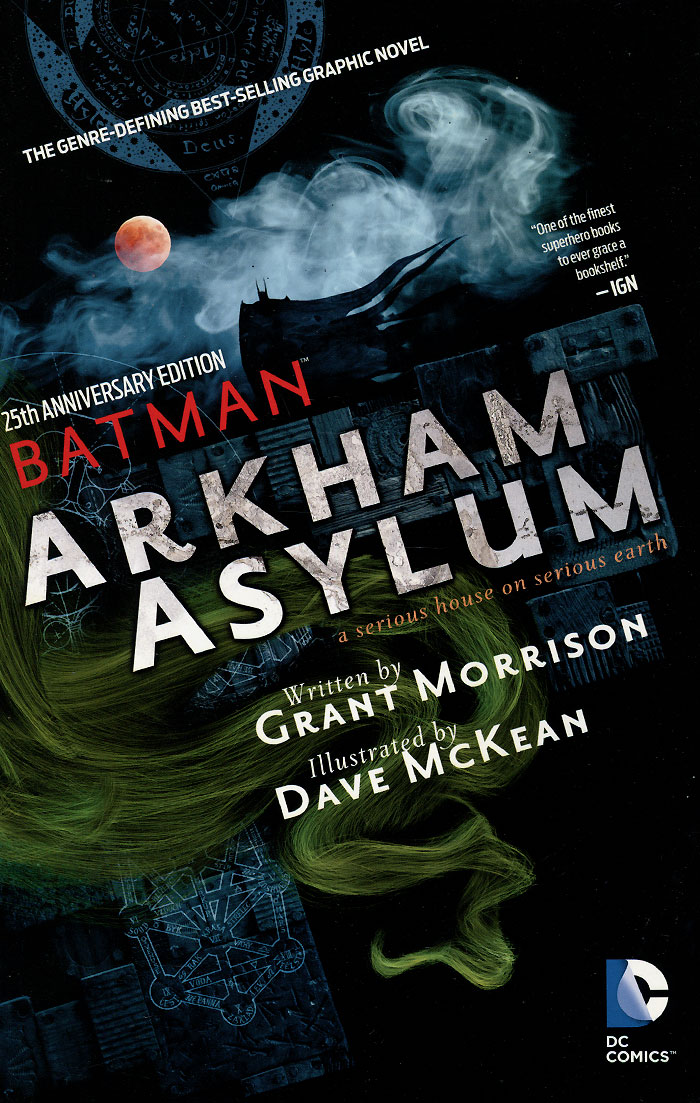 Batman: Arkham Asylum: A Serious House on Serious Earth aliens the original comics series nightmare asylum and earth war
