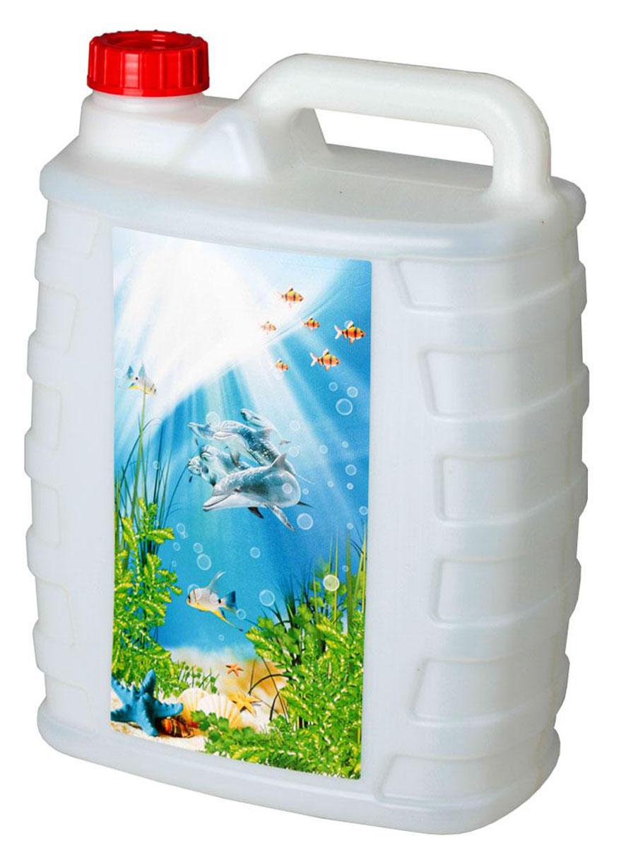Канистра Альтернатива Дельфины, 10 лМ2391Канистра Альтернатива Дельфины на 10 литров, изготовленная из прочного пластика, несомненно, пригодится вам во время путешествия. Предназначена для переноски и хранения различных жидкостей. Канистра декорирована принтом. УВАЖАЕМЫЕ КЛИЕНТЫ! Обращаем ваше внимание на изменения в дизайне товара, рисунок может отличаться от представленного на картинке. Поставка осуществляется в зависимости от наличия на складе.