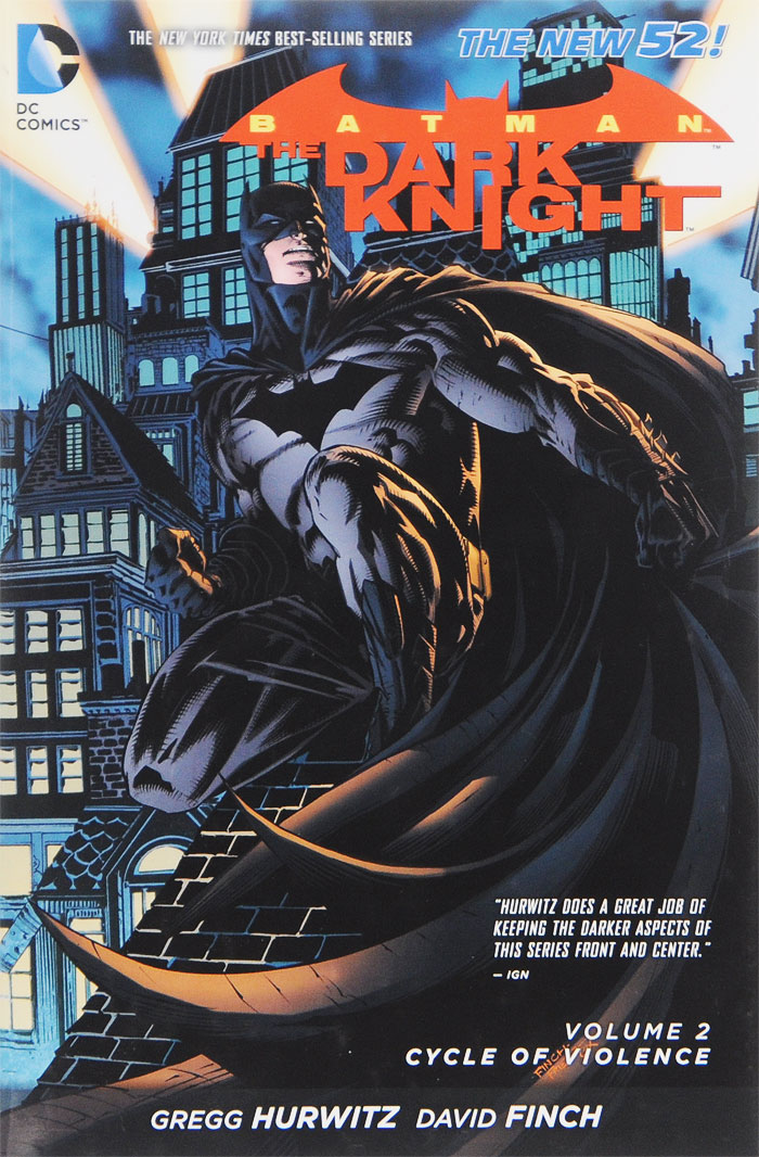 Batman: The Dark Knight, Volume 2: Cycle of Violence batman volume 1 the court of owls
