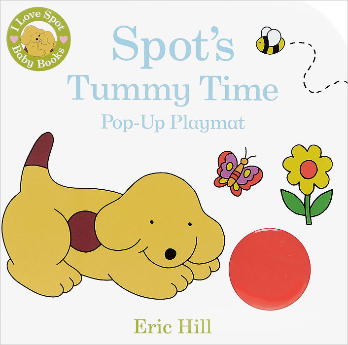 Spot's Tummy Time Pop-up Playmat часы nixon time teller p black bright pink