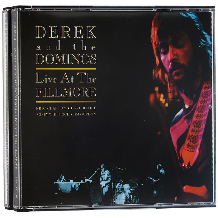 Derek And The Dominos. Live At The Fillmore (2 CD )