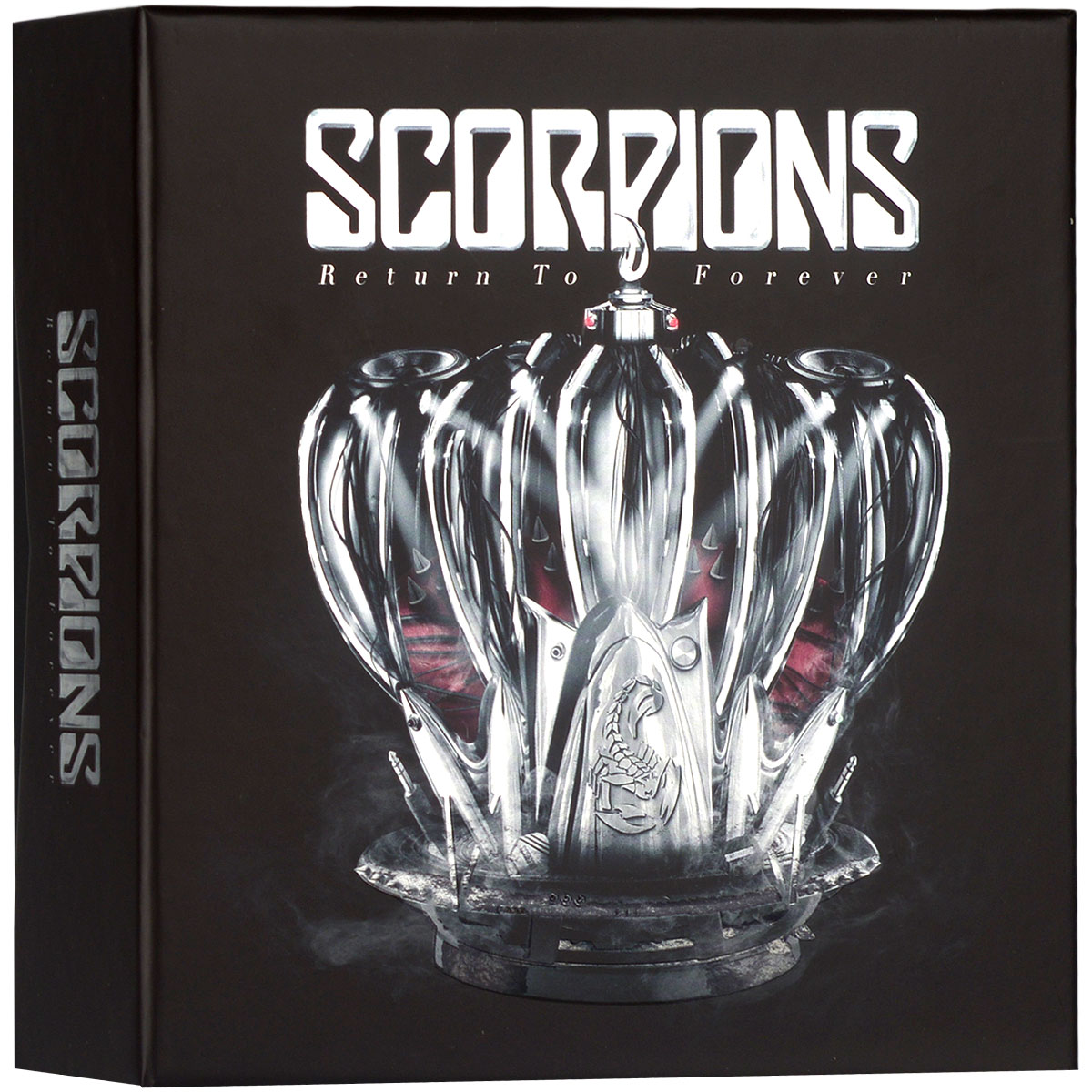 Scorpions Scorpions. Return To Forever. Limited 50th Anniversary Collector'S Box (3 CD + LP) scorpions – tokyo tapes 50th anniversary deluxe edition 2 lp 2 cd