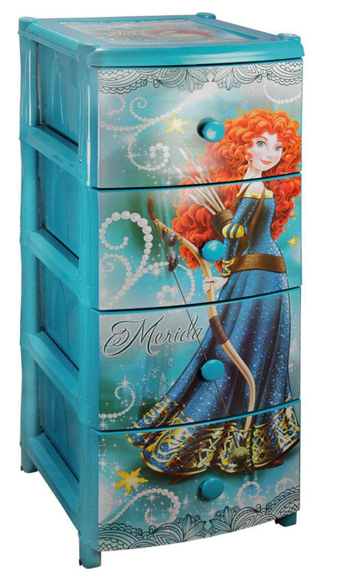 Комод широкий Альтернатива Мерида-Дисней, для девочки, 38 х 48 х 98 смМ2088Комод для девочек Альтернатива Мерида-Дисней изготовлен из высококачественного пластика голубого цвета и декорирован аппликациями. Он предназначен для хранения различных вещей, игрушек и состоит из трех вместительных секций. Комод оснащен колесиками для удобства перемещения.Такой необычный и яркий комод Альтернатива Мерида-Дисней надежно защитит детские вещи от загрязнений, пыли и моли, а также позволит вам хранить их компактно и с удобством. Размер ящиков: 44 см х 31 см х 17 см.