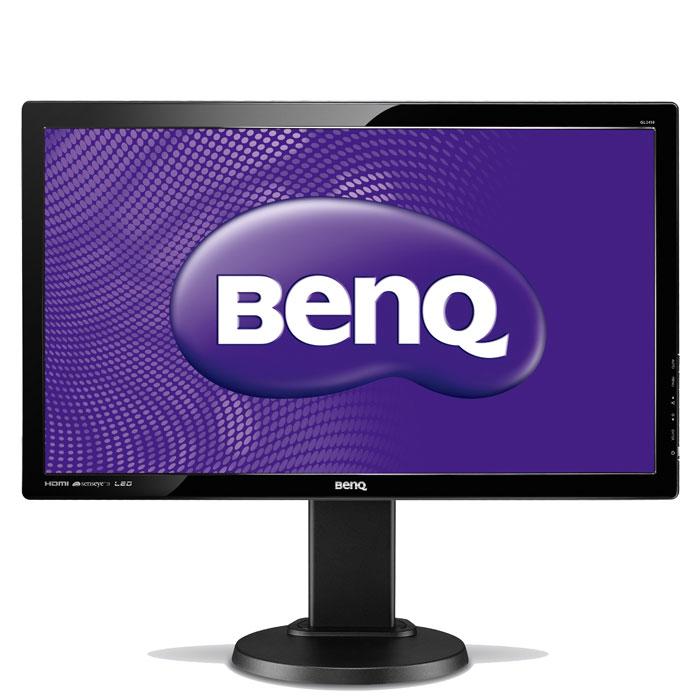 BenQ GL2450HT, Glossy Black монитор benq gl2250hm glossy black монитор