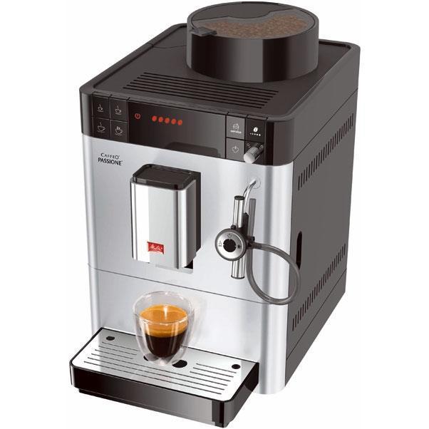 Melitta Caffeo Passione F530-101, Silver кофемашина (21023)