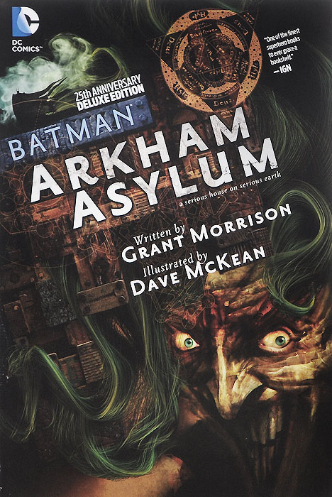 Batman: Arkham Asylum batman incorporated volume 1 deluxe