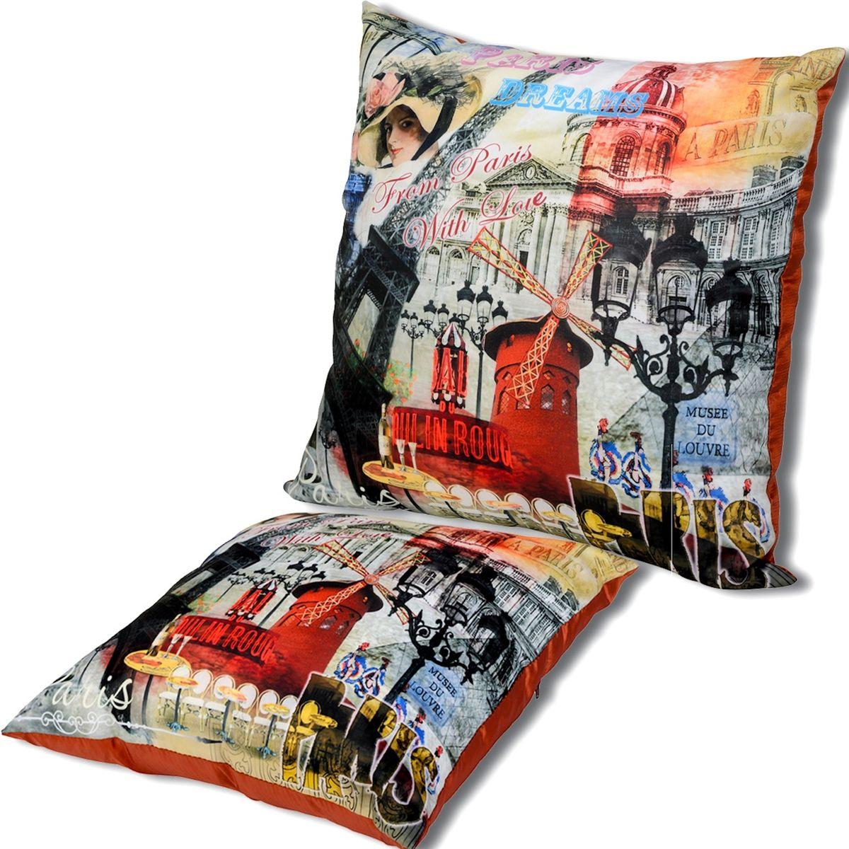 Подушка декоративная Gift'n'Home Париж, 35 х 35 см подушка декоративная домашние любимцы 99 519