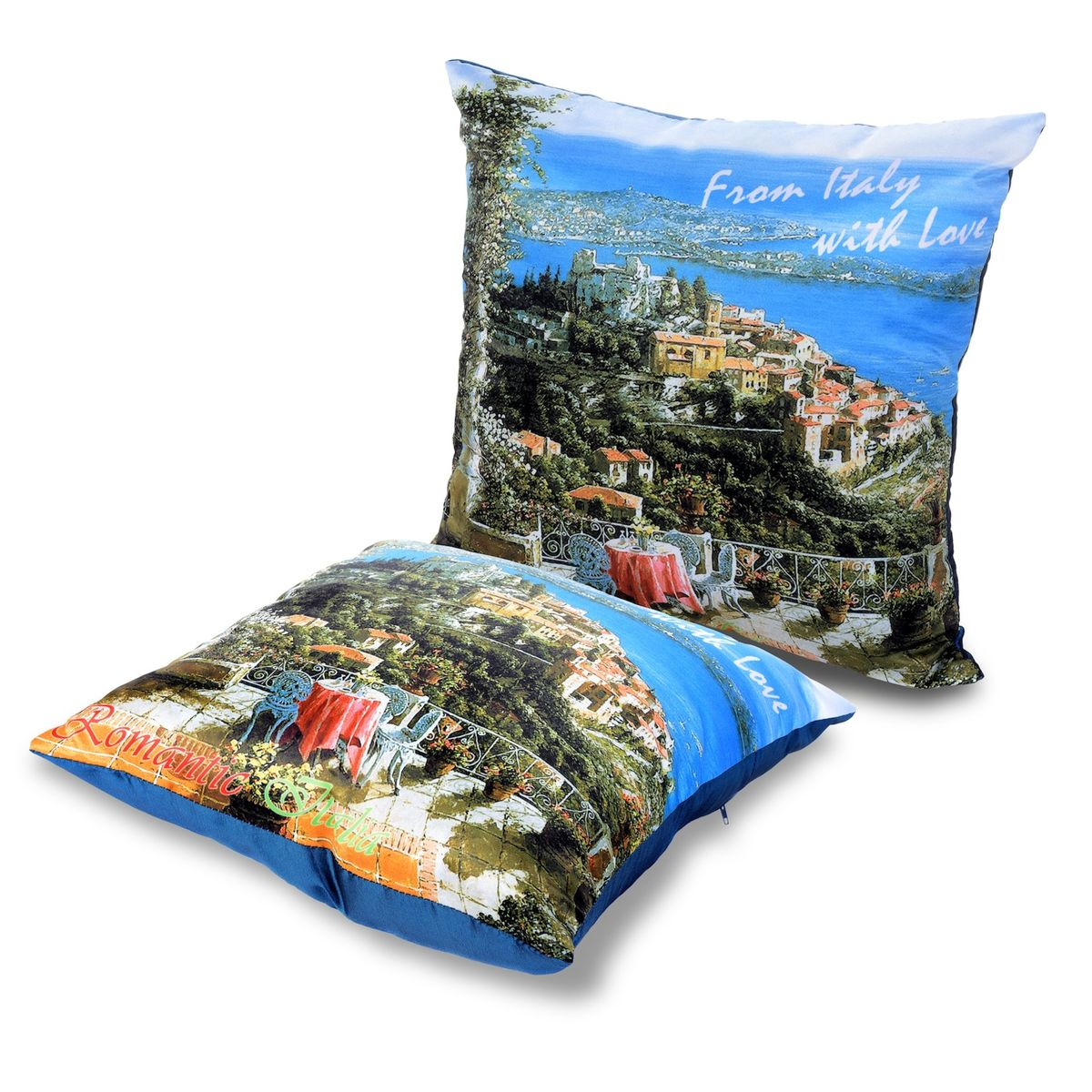 Подушка декоративная Gift'n'Home Романтическая Италия, 35 х 35 см подушки на стул dorothy s home сидушка декоративная 35 35 цвет розовый