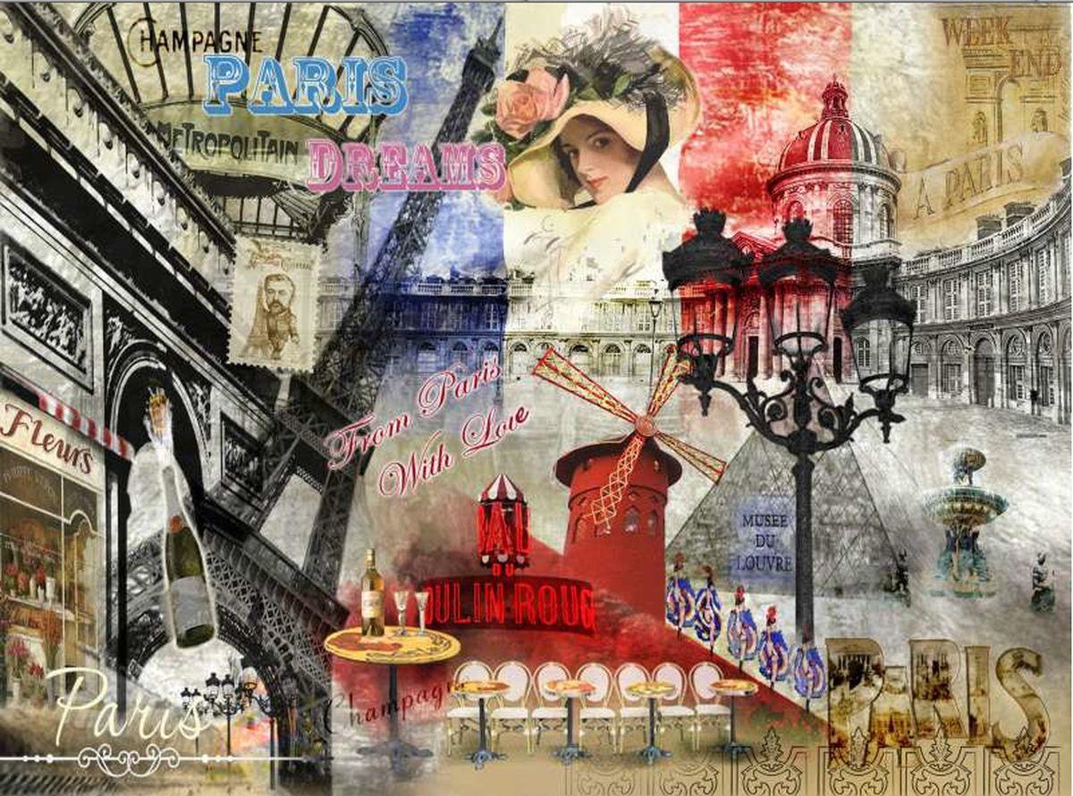 Доска разделочная GiftnHome Парижские фантазии, стеклянная, 30 см х 20 смCB-01-PDREAMРазделочная доска GiftnHome Парижские фантазии выполнена из жароустойчивого стекла. Изделие, украшенное красочным изображением достопримечательностей Парижа, идеально впишетсяв интерьер современной кухни. Специальное покрытие вкладыша обеспечивает стойкость к влаге и высоким температурам. Изделие легко чистить от пятен и жира. Также доску можно применять как подставку под горячее. Доска оснащена резиновыми ножками, предотвращающими скольжение по поверхности стола.Разделочная доска GiftnHome Парижские фантазии украсит ваш стол и сбережет его от воздействия высоких температур ваших кулинарных шедевров. Можно мыть в посудомоечной машине.Размер доски: 30 см х 20 см х 0,4 см.