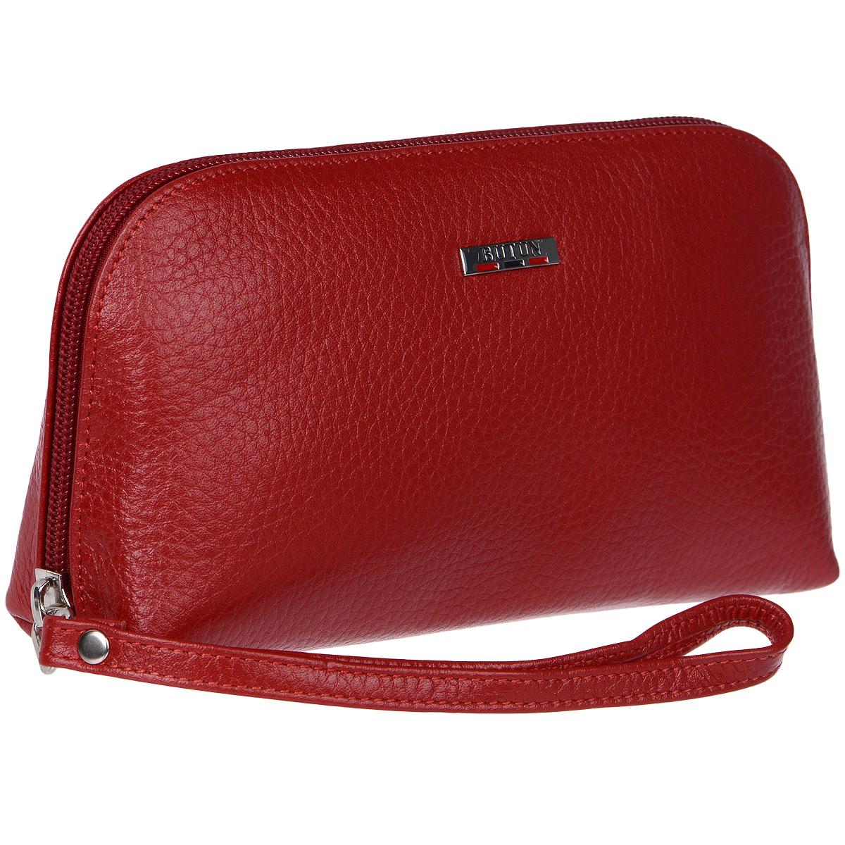 Косметичка Butun, цвет: красный. 657-004 006