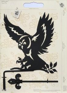 Указатель ветра Duck & Dog Сова, 31 х 77 см флаги duck and dog флаг россии с кронштейном и древком