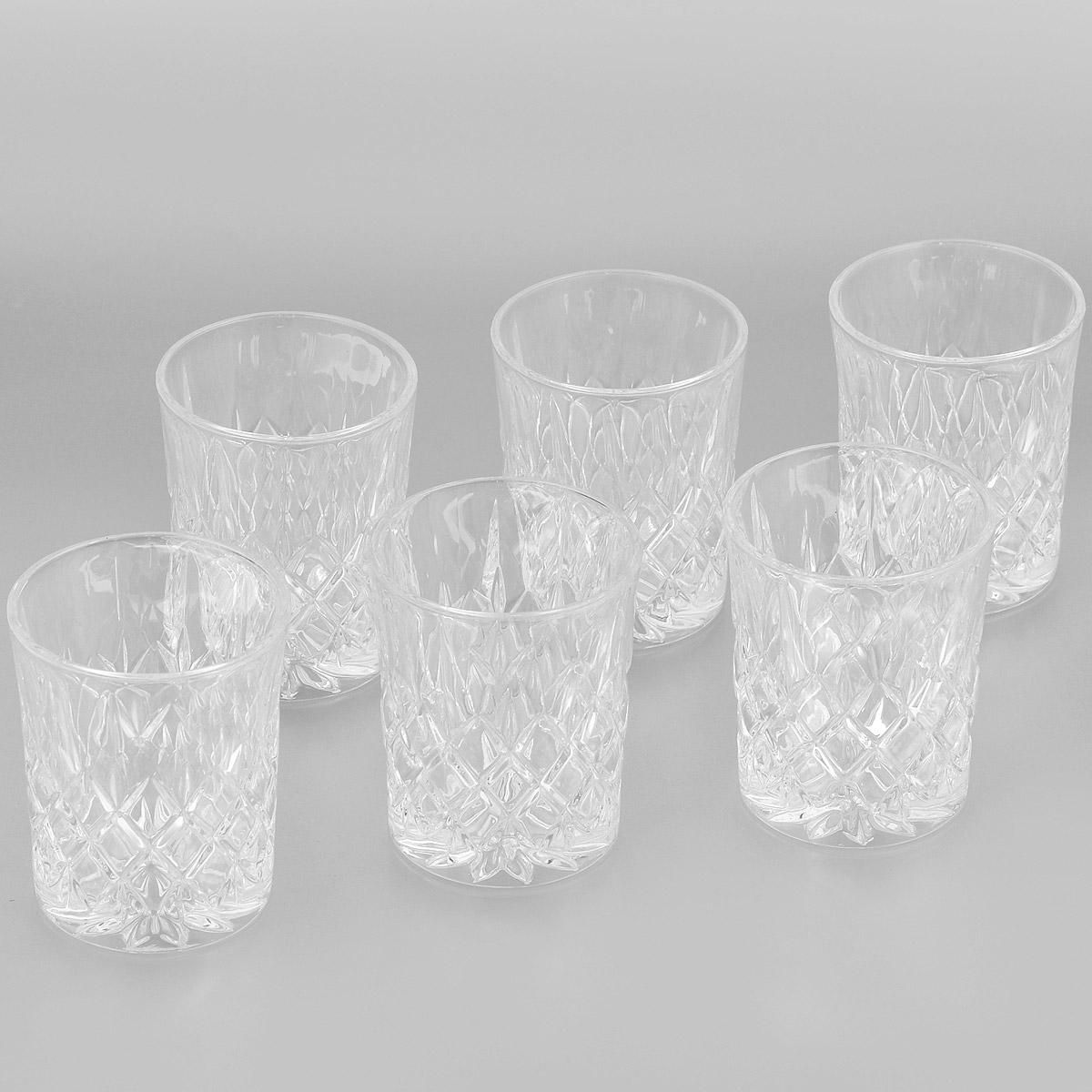 Набор стаканов для виски Crystal Bohemia, 320 мл, 6 шт990/24600/0/42000/320-609Набор для виски Crystal Bohemia состоит из шести стаканов. Изделия выполнены из прочного высококачественного хрусталя и декорированы рельефом. Они излучают приятный блеск и издают мелодичный звон. Набор предназначен для подачи виски.Набор Crystal Bohemia прекрасно оформит интерьер кабинета или гостиной и станет отличным дополнением бара. Такой набор также станет хорошим подарком к любому случаю. Диаметр по верхнему краю: 8,5 см. Высота стакана: 10,5 см. Диаметр основания: 7,2 см.