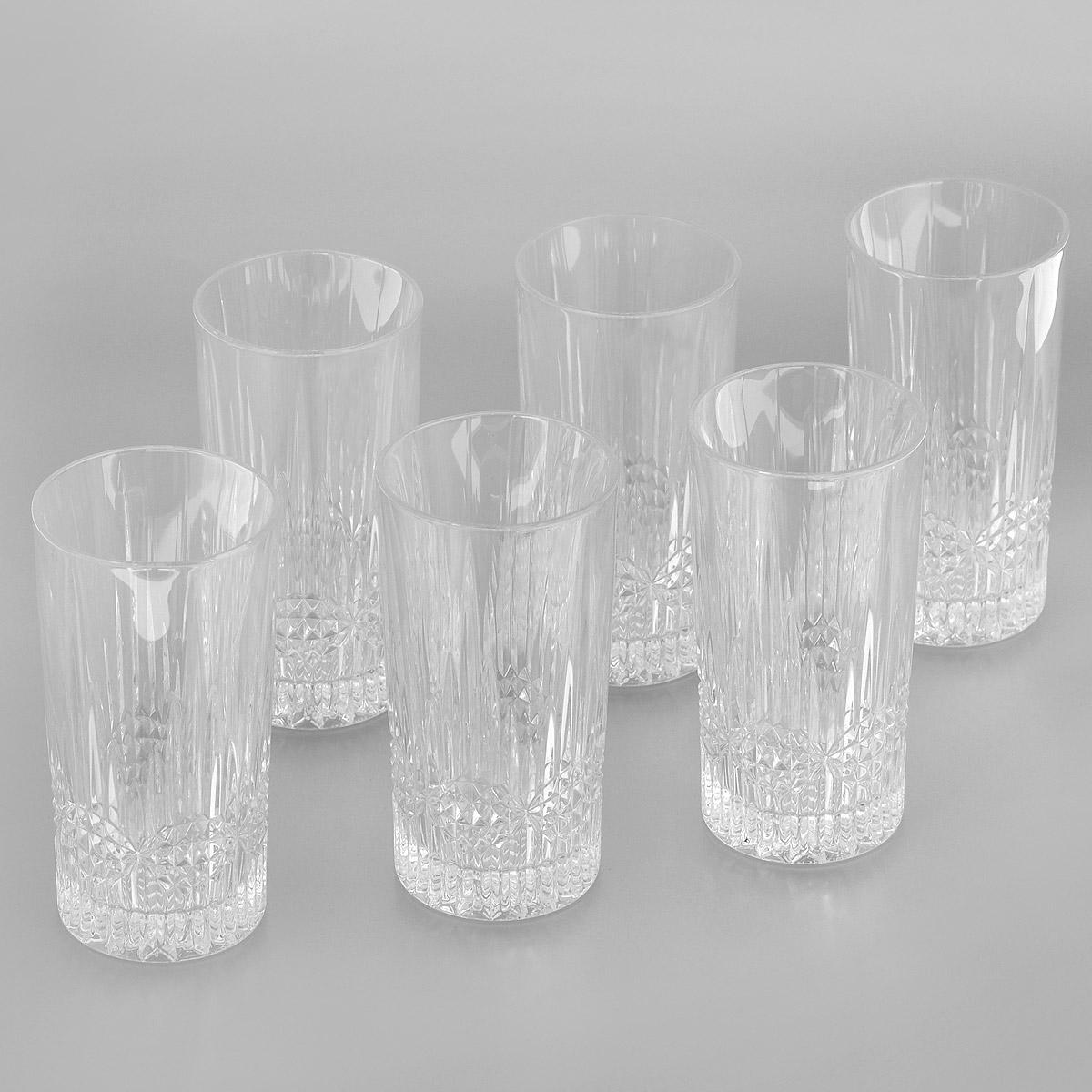 Набор стаканов для воды Crystal Bohemia Vibes, 300 мл, 6 шт990/20105/0/24355/350-609Набор для воды Crystal Bohemia Vibes состоит из шести стаканов. Изделия выполнены из прочного высококачественного хрусталя и декорированы рельефом. Они излучают приятный блеск и издают мелодичный звон. Набор предназначен для подачи воды. Набор для воды Crystal Bohemia Vibes прекрасно оформит интерьер кабинета или гостиной и станет отличным дополнением бара. Такой набор также станет хорошим подарком к любому случаю. Диаметр по верхнему краю: 7 см.Высота стакана: 14 см.Диаметр основания: 6,3 см.