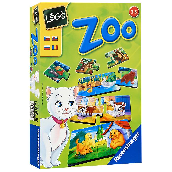 Ravensburger Настольная игра Лого Зоо монополия игра с банковскими карточками купить