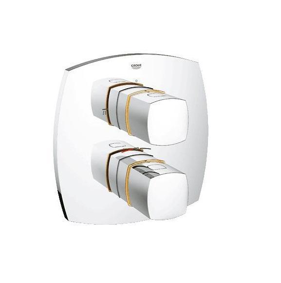 Термостатический смеситель для ванны GROHE Grandera (внешняя панель для арт. 35500000) (19948IG0)