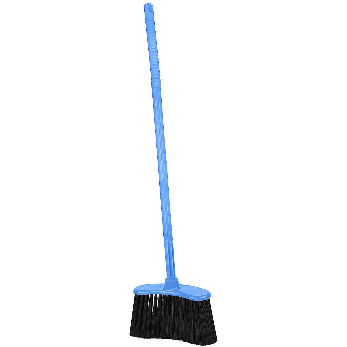 Веник Альтернатива Комфорт-люкс, жесткий, цвет: голубой, 85 смМ1267Веник Альтернатива Комфорт-люкс изготовлен из пластика и предназначен длядля подметания пола. Оснащен длинным жестким черенком. Ворсинки изделия твердые, на конце распушенные для максимальной эффективности. Черенок оснащен отверстием для подвешивания.Оригинальный, современный, удобный веник сделает уборку эффективнее и приятнее.Высота веника: 85 см.Длина ворсинок: 14 см.