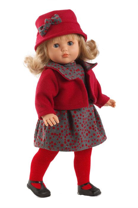 Llorens Пупс Лаура цвет красный llorens кукла лаура 45 см llorens