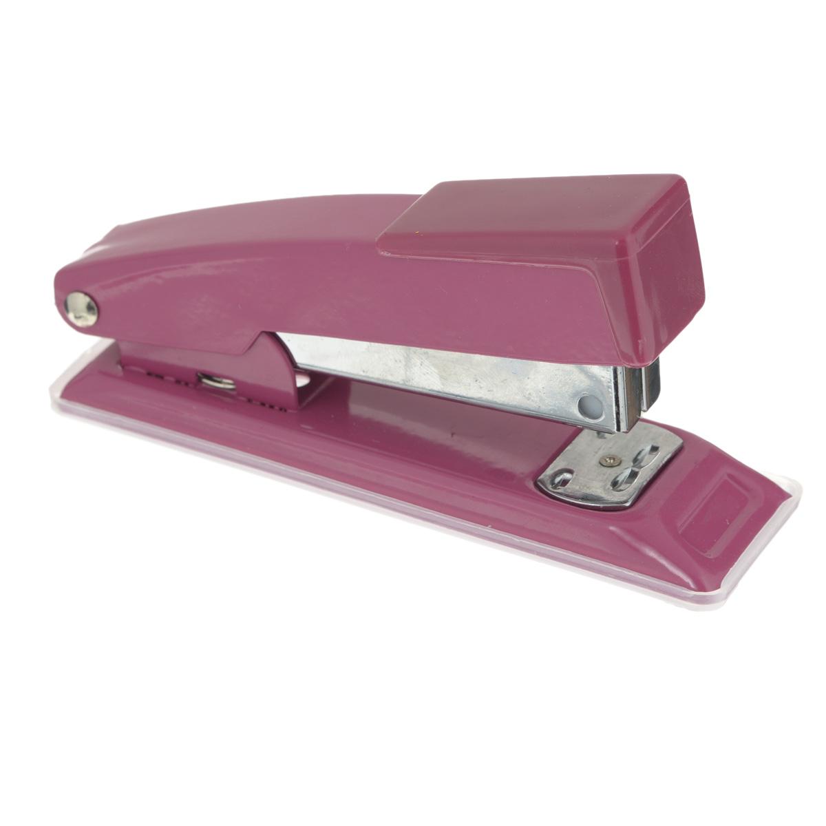 Centrum Степлер для скоб №24/6, 26/6 цвет розовый80061Удобный и практичный степлер Centrum - незаменимый офисный инструмент. Он выполнен из пластика с металлическим механизмом. Степлеру подходят скобы №№ 24/6 и 26/6 на 20 и 25 листов соответственно.Степлер Centrum гарантирует стабильную и качественную работу в течение долгого времени.Уважаемые клиенты!Товар поставляется в цветовом ассортименте. Отгрузка производится из имеющихся в наличии цветов.